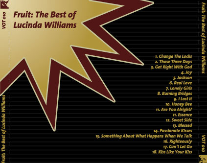 Fruit: The Best of Lucinda Williams artwork