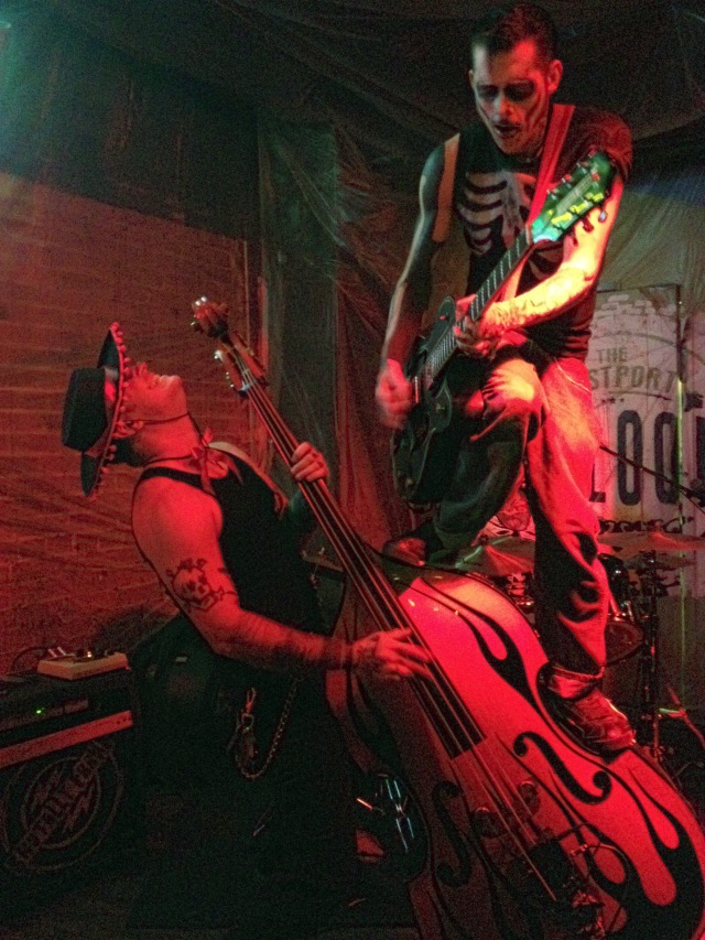 Brutally Frank performs live at The Westport Saloon in Kansas City, Missouri on 10/31/14.