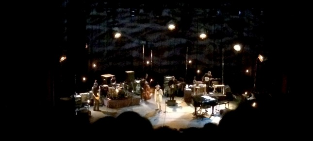 Bob Dylan and His Band performs live at Municipal Auditorium on 5/10/15 in Kansas City, MIssouri.