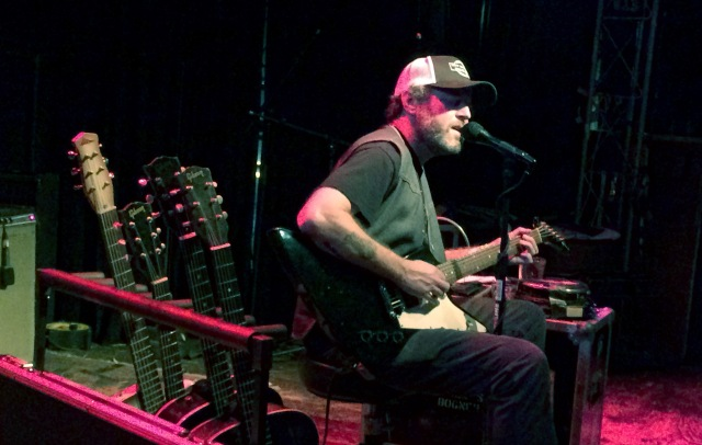 Scott H Biram performs live at The Record Bar in Kansas City, Missouri on 2/5/15.