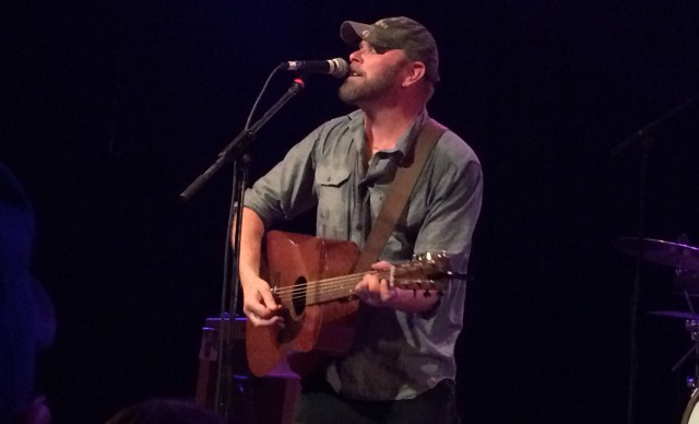 Singer/songwriter Tim Berry preforms live at The Granada in Lawrence, Kansas on 3/31/16 opening for Murder By Death.