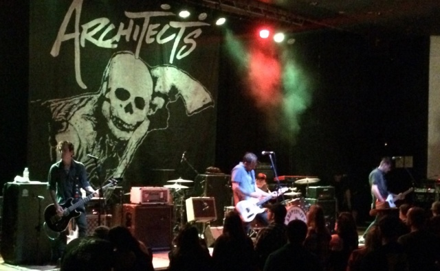 The Architects with another high intensity show at The Granda in Lawrence, KS on 9/13/16.