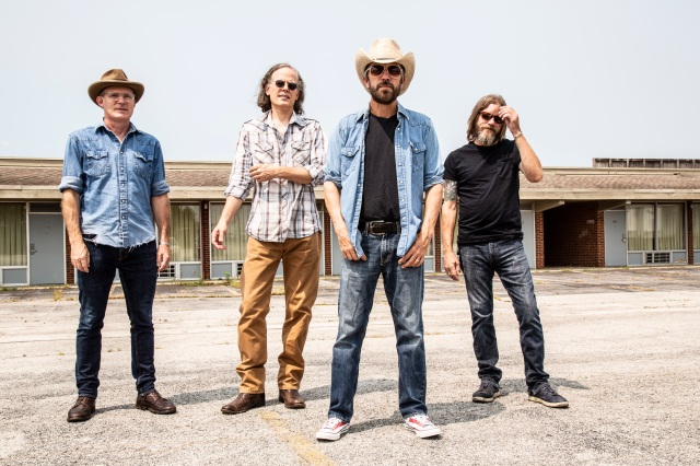The Bottle Rockets (Left to Right: John Horton, Mark Ortmann, Brian Henneman and Keith Voegele, Photo By Cary Horton