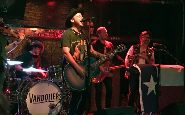 The Vandoliers play the Riot Room's outdoor stage in Kansas City, Missouri on 6/11/19.